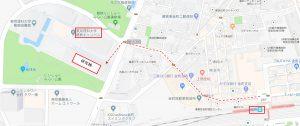 東京理科大学葛飾キャンパス(電車の場合)